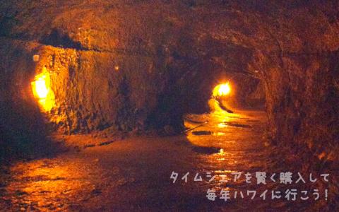 サーストン溶岩洞(ラヴァ・チューブ)