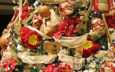 マリオット・コオリナ・ビーチクラブ クリスマスツリー